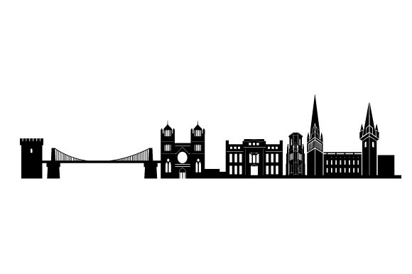 Bristol Skyline UK Designs Craft Cut File By Creative Fabrica Crafts