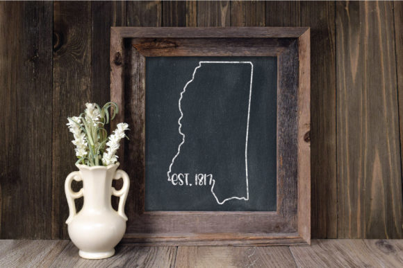 Print on Demand: 50 States Bundle - Date Established Graphic Crafts By oldmarketdesigns - Image 15