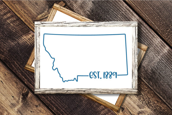Print on Demand: 50 States Bundle - Date Established Graphic Crafts By oldmarketdesigns - Image 16