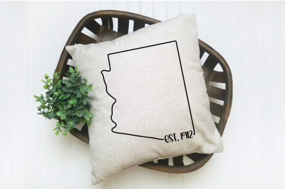 Print on Demand: 50 States Bundle - Date Established Graphic Crafts By oldmarketdesigns - Image 9