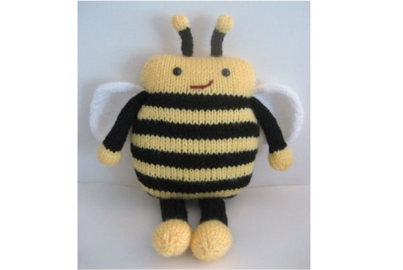 Amigurumi Knit Bee Pattern Graphic Knitting Patterns By Amy Gaines Amigurumi Patterns - Image 1