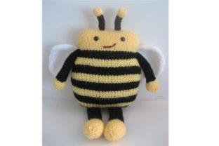 Amigurumi Knit Bee Pattern Graphic Knitting Patterns By Amy Gaines Amigurumi Patterns