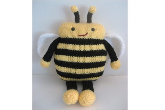 Amigurumi Knit Bee Pattern Graphic Knitting Patterns By Amy Gaines Amigurumi Patterns - Image 2