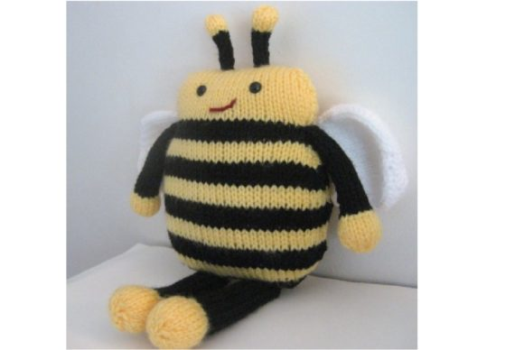 Amigurumi Knit Bee Pattern Graphic Knitting Patterns By Amy Gaines Amigurumi Patterns - Image 3