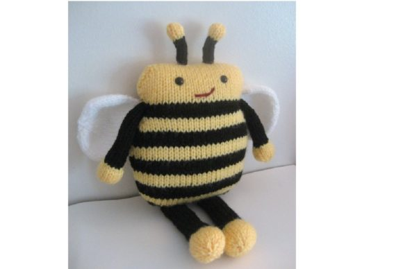 Amigurumi Knit Bee Pattern Graphic Knitting Patterns By Amy Gaines Amigurumi Patterns - Image 4