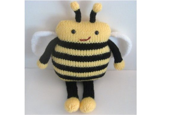 Amigurumi Knit Bee Pattern Graphic Knitting Patterns By Amy Gaines Amigurumi Patterns - Image 5