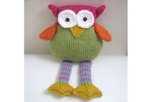 Amigurumi Knit Owl Pattern Graphic Knitting Patterns By Amy Gaines Amigurumi Patterns