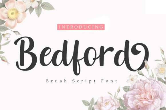 Print on Demand: Bedford Script & Handwritten Font By Madatype Studio