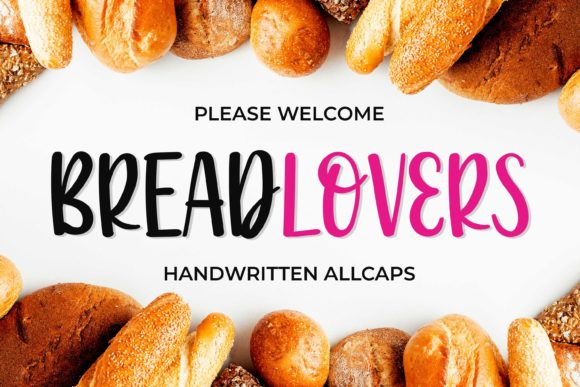 Print on Demand: Breadlovers Script & Handwritten Font By variatype.id