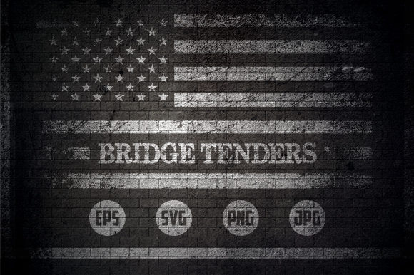 Bridge Tanders - USA Flag Graphic Crafts By Creative Mind