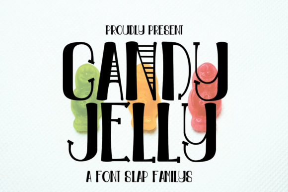 Print on Demand: Candy Jelly Display Font By edwar.sp111
