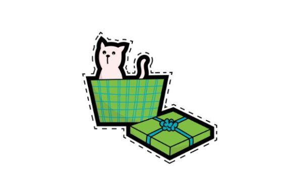 Print on Demand: Cats Are a Surprise Birthday Gift Graphic Illustrations By firdausm601