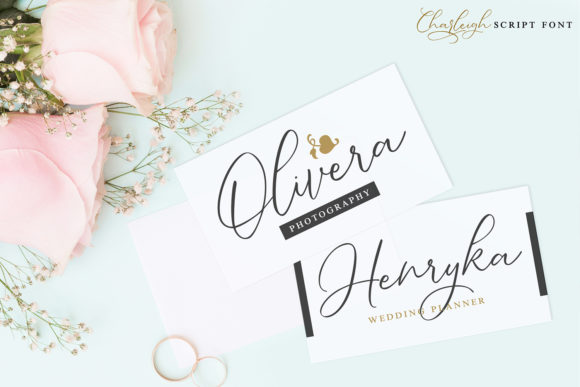 Charleigh Font Preview