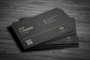 Print on Demand: Clean Business Card Graphic Print Templates By rongmistiry