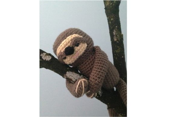 Crochet Sloth Pattern Graphic Crochet Patterns By Amy Gaines Amigurumi Patterns - Image 4