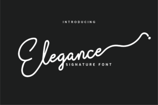 Print on Demand: Elegance Script & Handwritten Font By Productype