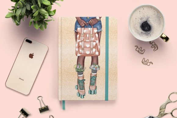 Print on Demand: Fashion Clipart Set Planner Insert Graphic Illustrations By TheGGShop - Image 8