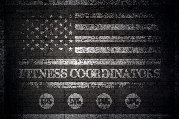 Fitness Coordinators Graphic Crafts By Creative Mind