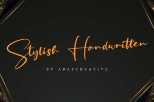 Print on Demand: Fritlany Script & Handwritten Font By AbasCreative 8