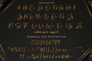 Print on Demand: Fritlany Script & Handwritten Font By AbasCreative 9