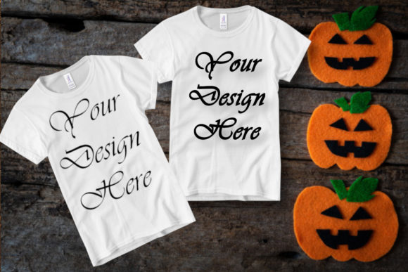 Halloween Mock Up, Toddler Shirt, Mockup Graphic Graphic Templates By MockupsByGaby