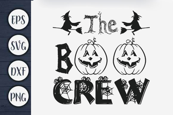 Print on Demand: Halloween - the Boo Crew Graphic Print Templates By CreativeArt