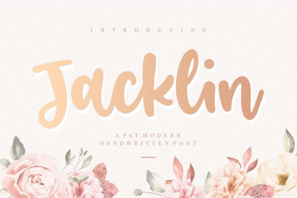 Print on Demand: Jacklin Script & Handwritten Font By Balpirick