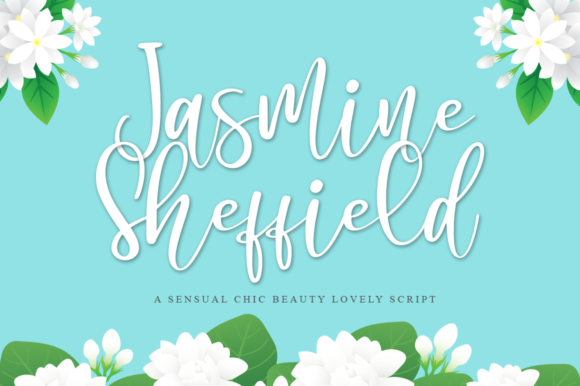 Print on Demand: Jasmine Sheffield Script & Handwritten Font By Haksen
