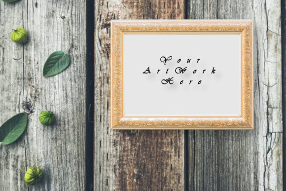 Mockup Picture Frame, Photo Graphic Product Mockups By MockupsByGaby