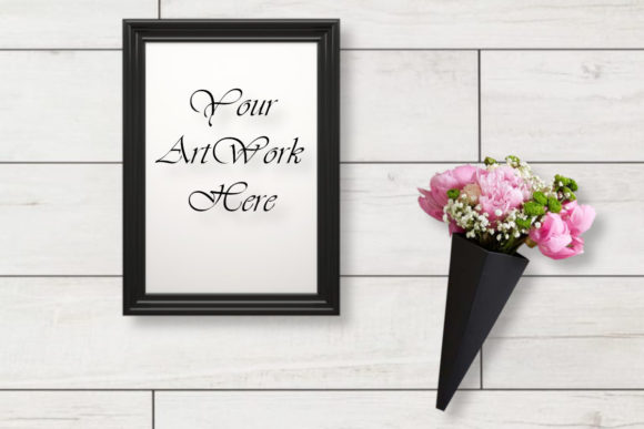 Photo Frame Mockups Graphic Product Mockups By MockupsByGaby