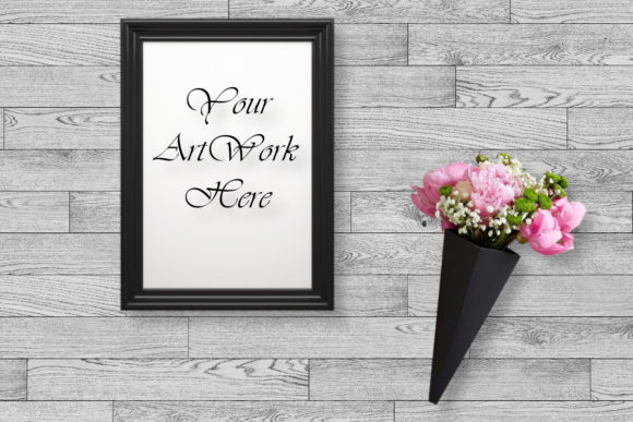 Picture Frame Mockup, Design Mock Up Graphic Product Mockups By MockupsByGaby