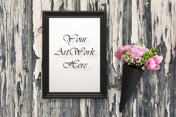 Picture Frame Mockup Graphic Product Mockups By MockupsByGaby