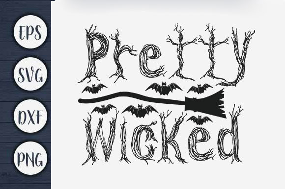Print on Demand: Pretty Wicked Graphic Print Templates By CreativeArt