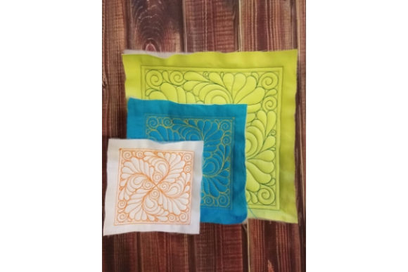 Quilt Block Embroidery Item