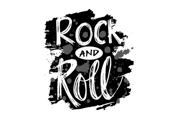 Rock 'N Roll Graphic Crafts By han.dhini