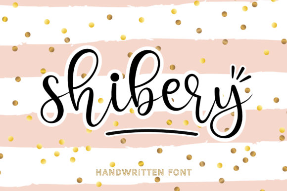 Print on Demand: Shibery Script & Handwritten Font By meiimi