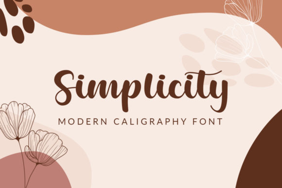 Print on Demand: Simplicity Script & Handwritten Font By Nirmala Creative