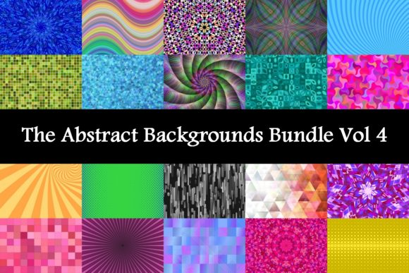 The Abstract Backgrounds Bundle Vol 4  By davidzydd