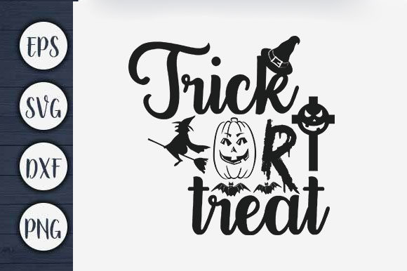 Print on Demand: Trick or Treat Graphic Print Templates By CreativeArt
