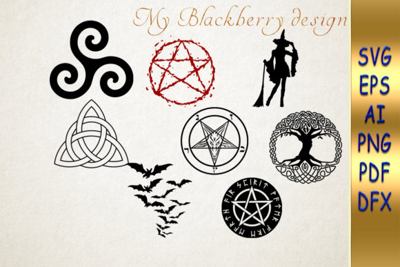 Print on Demand: Witch Digital Files Graphic Crafts By talanpluss