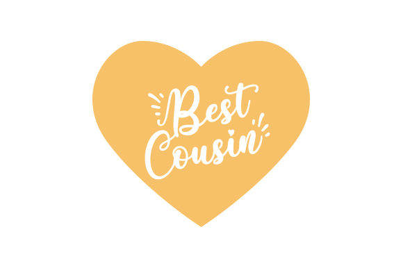 Best Cousin Family Craft Cut File By Creative Fabrica Crafts