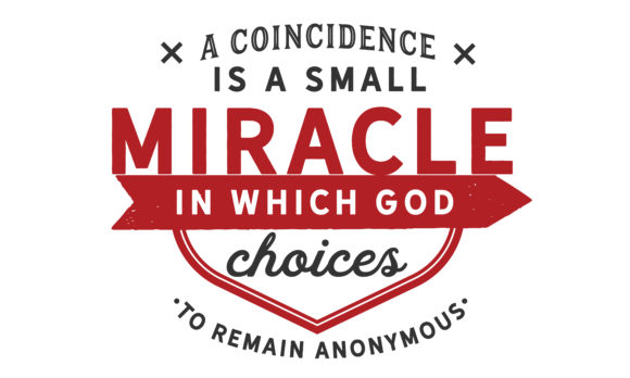 Print on Demand: A Coincidence is a Small Miracle Graphic Illustrations By baraeiji