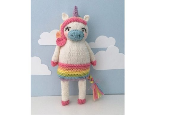 Amigurumi Knit Unicorn Pattern Graphic Knitting Patterns By Amy Gaines Amigurumi Patterns