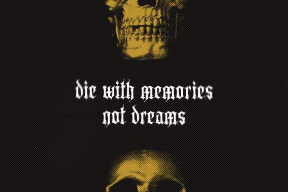 Print on Demand: Aortascarta Blackletter Font By typealiens - Image 3