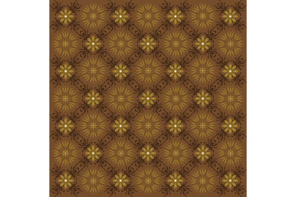 Beautiful Motif on Solo Batik Graphic Backgrounds By cityvector91
