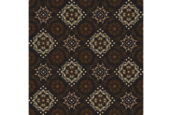 Central Java Batik Graphic Backgrounds By cityvector91