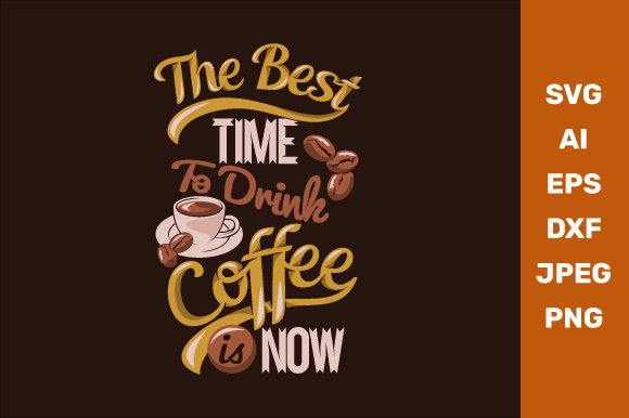 Coffee Quotes Graphic Crafts By manglayang.studio
