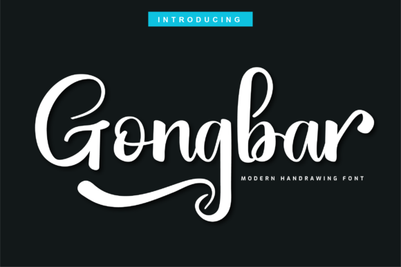 Print on Demand: Gongbar Script & Handwritten Font By twinletter