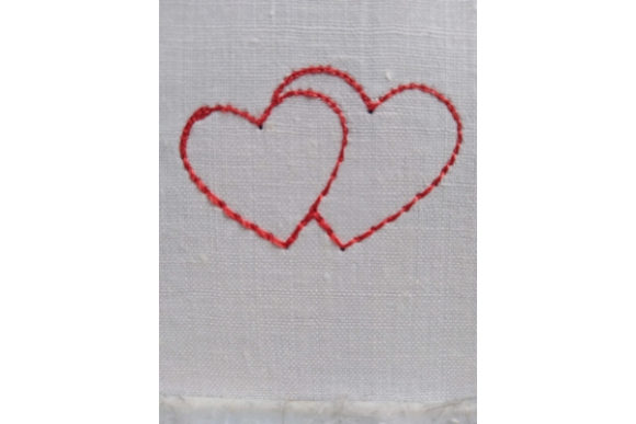 Hearts Embroidery Download