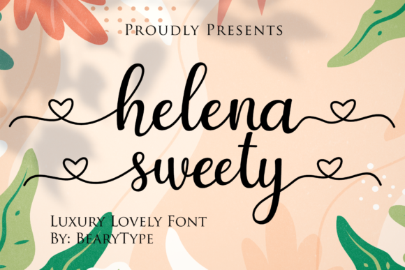 Print on Demand: Helena Sweety Script & Handwritten Font By LetterBeary